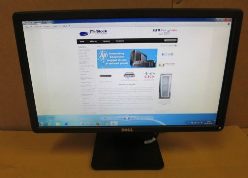 "Dell E2014HF PD06D 19.5"" LED Flat LCD TFT Widescreen Monitor 1600x900 VGA DVI"